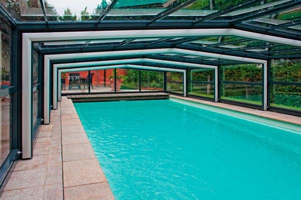 Pianeta serramenti installazione di coperture per piscine - Coperture mobili per piscine ...